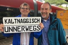Begrüßung - Kaltnaggisch Rhein grüßt Kaltnaggisch Saar